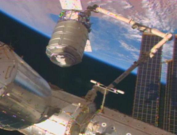 Cygnus успешно состыковался с Международной Космической Станцией