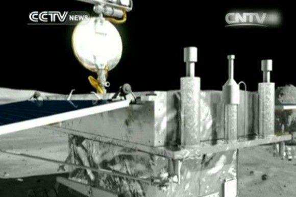 Китайский ровер и посадочный модуль вышли из состояния спячки