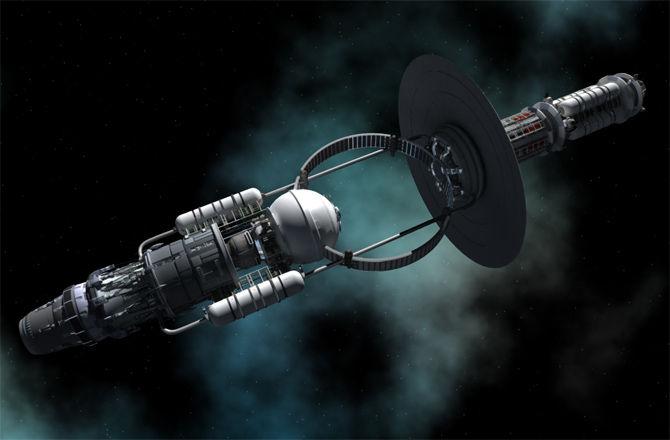 Кугельблиц: космические корабли могли бы получать энергию от черных дыр