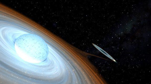 Ученые обнаружили нетипичную черную дыру