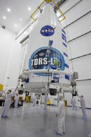 Спутник слежения и ретрансляции данных TDRS-L  готовится к запуску