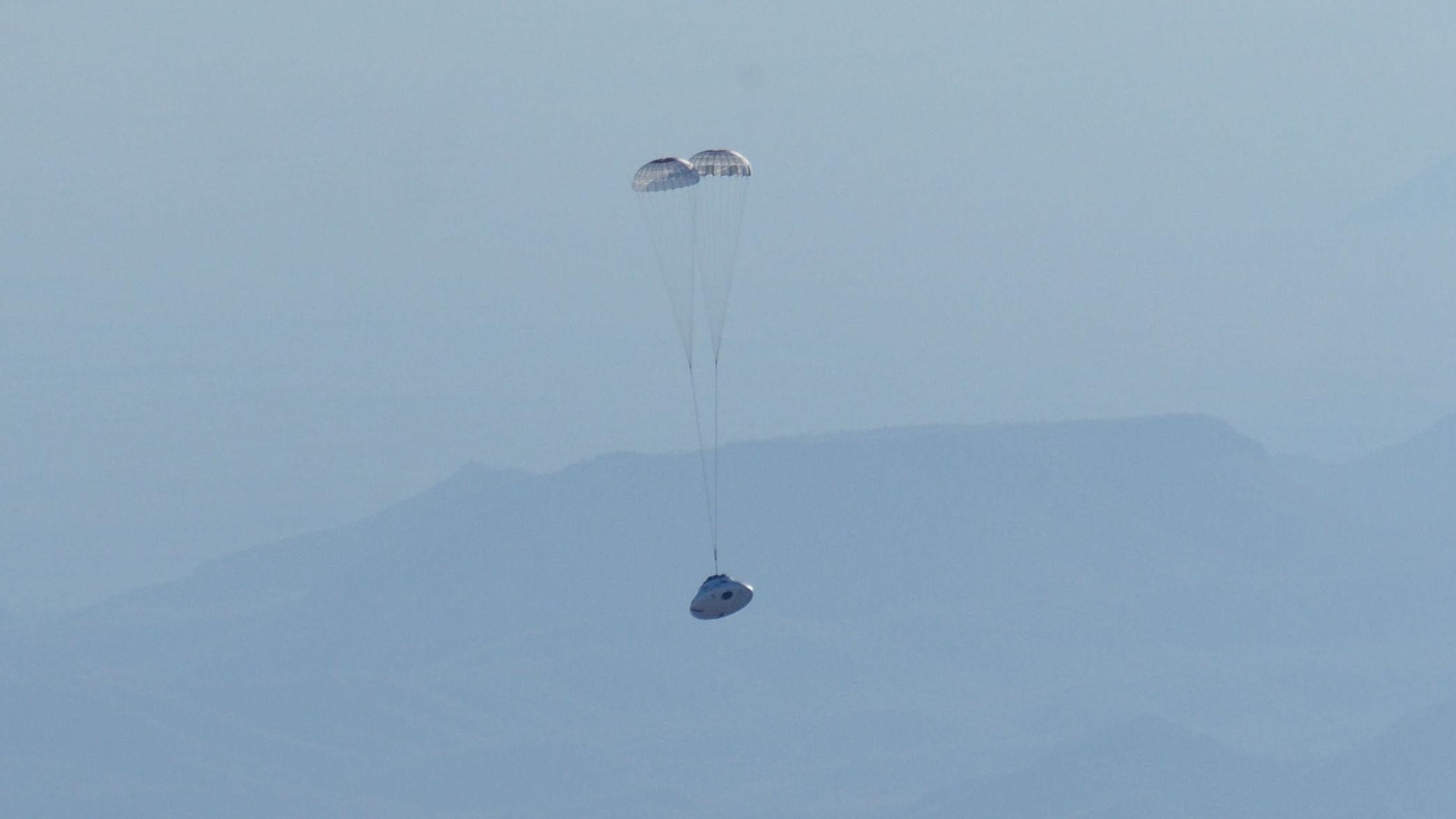 NASA тестирует системы космического корабля Orion в воздухе