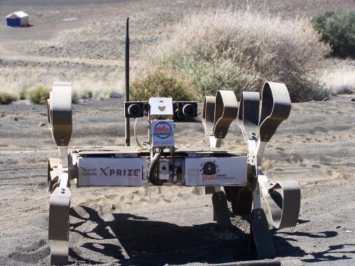 Венгерский луноход завершил испытания перед Google Lunar XPRIZE