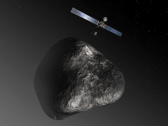 Получен первый сигнал от космического аппарата Розетта
