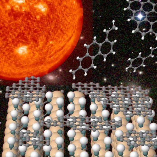 Как создавать органические химические вещества из звездной пыли