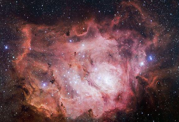Космическая Лагуна сверкает на снимках  VLT