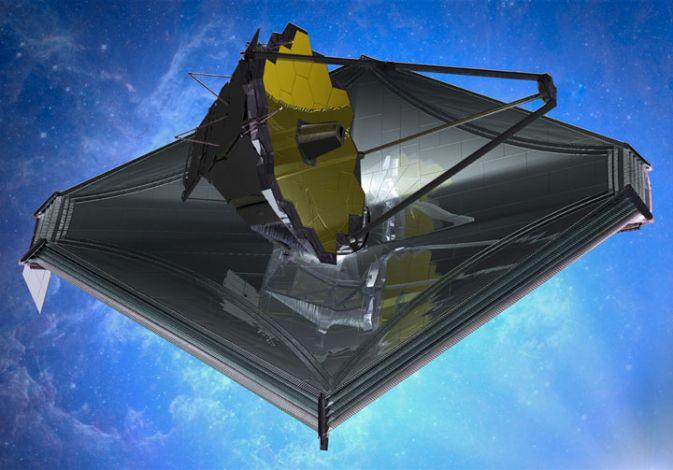 Космический телескоп Джеймса Вебба преодолел важный рубеж