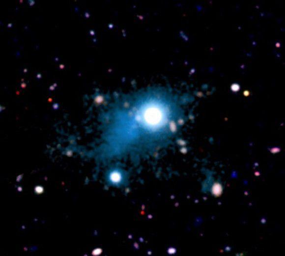 Космический фонарик проливает свет на загадки Вселенной