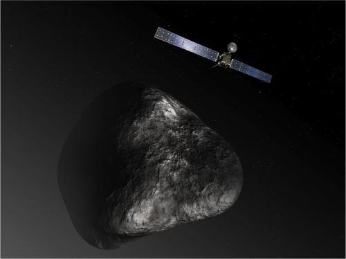 NASA готовится к проверке инструментов, установленных на борту аппарата Rosetta