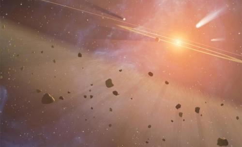 Астероидный пояс раскрывает тайны эволюции Солнечной Системы