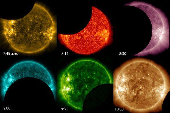 Лунный транзит глазами SDO