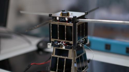Спутник, созданный студентами, отправляет данные из космоса