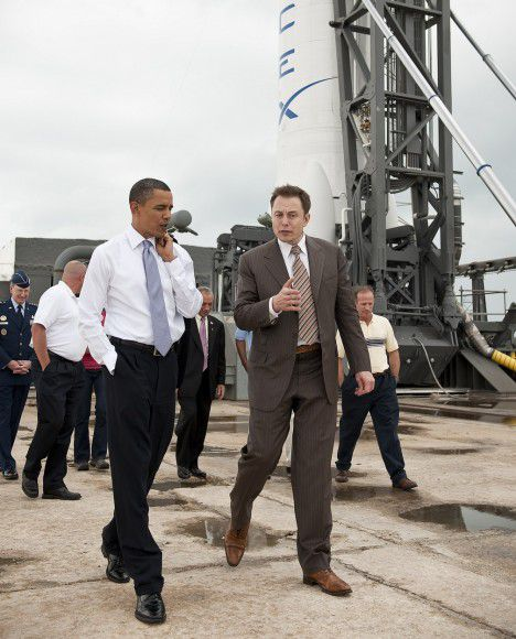 Элон Маск: ракеты для запуска кораблей на Марс будут готовы через 10-12 лет