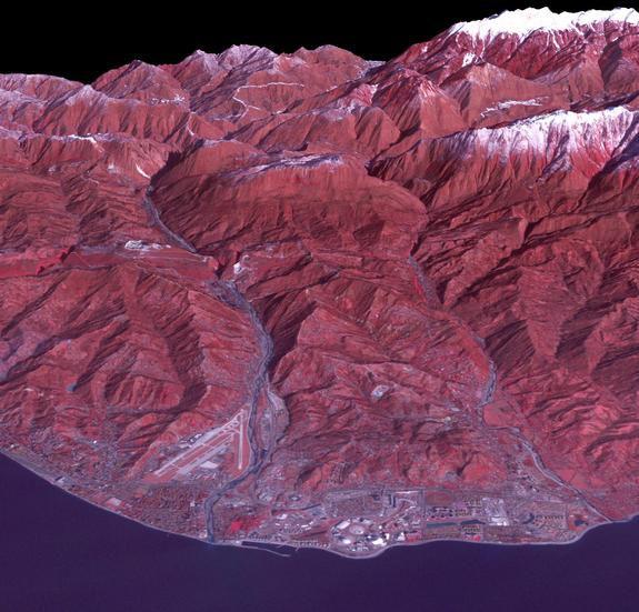 Снимок Олимпийского Сочи из космоса от спутника NASA