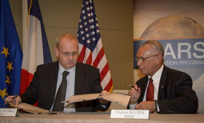 NASA и Французское Космическое Агентство подписали соглашение о сотрудничестве
