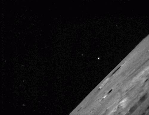 LADEE отправляет первые снимки Луны на Землю