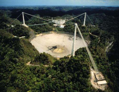Один из самых больших телескопов Земли находится на аварийном ремонте