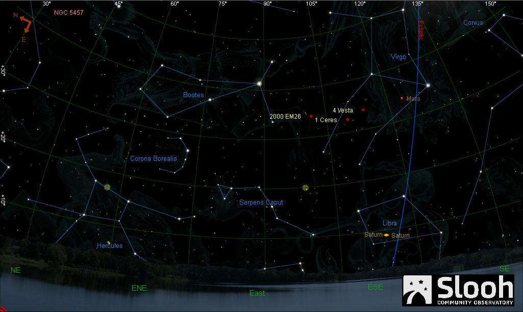 Во вторник рядом с Землей пролетит громадный астероид
