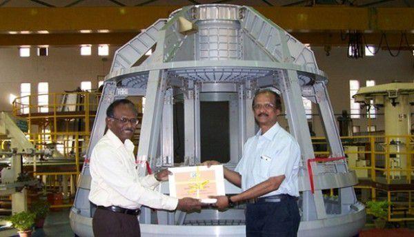 Индия представила новую капсулу для космонавтов