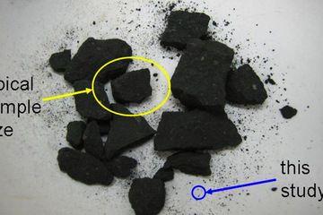 Ученые смогли обнаружить аминокислоты и ДНК в крошечном фрагменте метеорита
