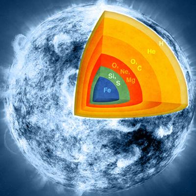 Телескопу NuSTAR впервые удалось заглянуть в ядро сверхновой