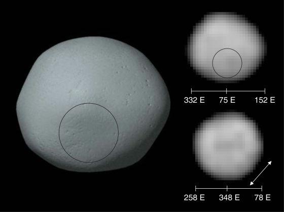 Лучшее время для того, чтобы увидеть астероид Паллада