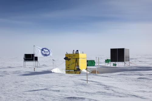 С помощью телескопа в Антарктике удалось обнаружить место, где рождаются звезды
