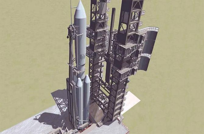 На космодроме Плесецк будут проводиться первые испытания ракеты Ангара