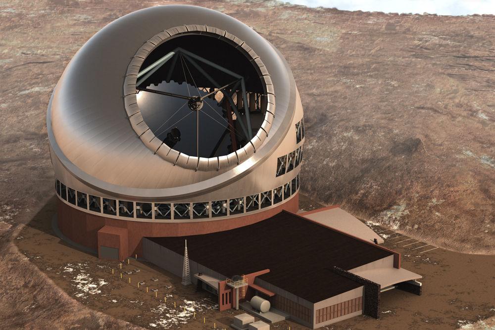 Этим летом на Гавайях приступят к строительству гигантского телескопа