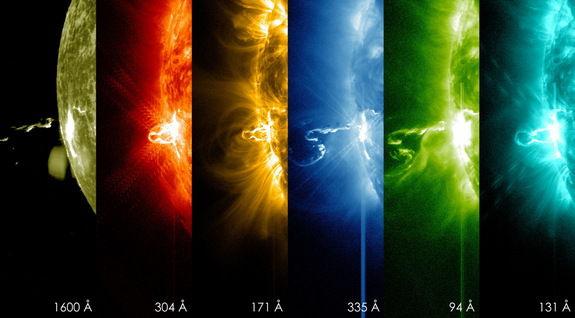 На Солнце произошла одна из самых мощных вспышке за последние несколько лет