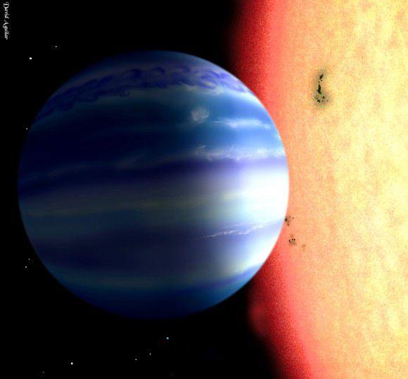 Ученые разработали новую методику обнаружения воды в атмосферах экзопланет