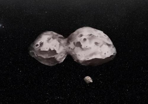Ученые исследовали орбиту спутника астероида (624) Гектор