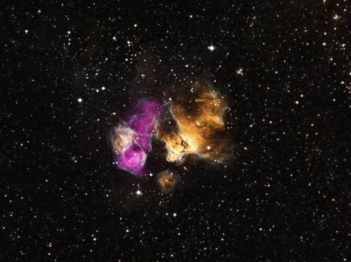 Астрономы обнаружили звезду, которая пережила вспышку сверхновой