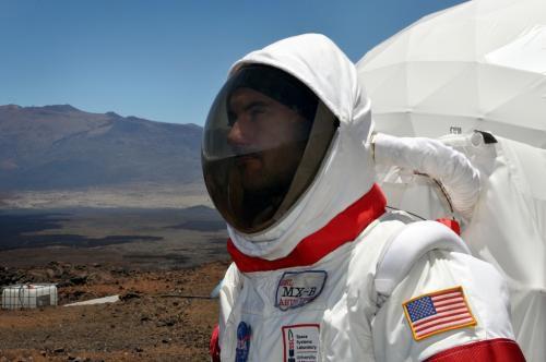 Начался очередной эксперимент из серии «Марс на Земле»