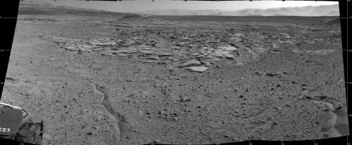 Curiosity оценивает следующее место для исследований