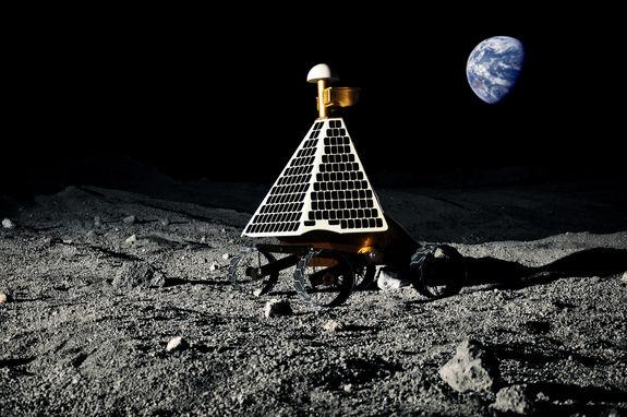 Возможно, за высадкой на Луну можно будет наблюдать в прямом эфире