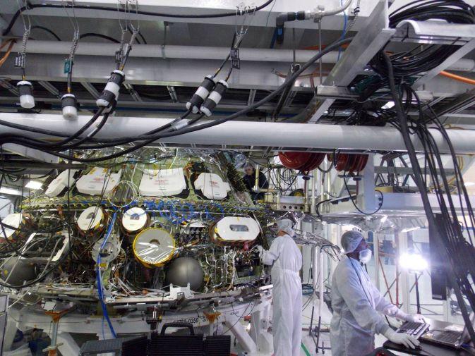 Первые системные испытания аппарата Orion  прошли успешно