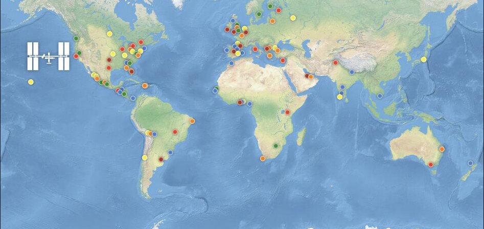 Состязания International Space Apps Challenge - хакатон космических приложений