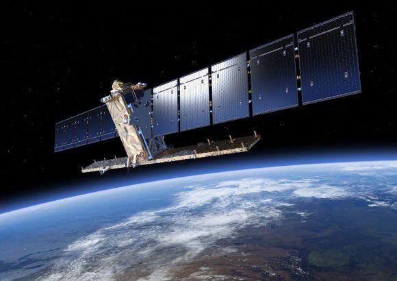 После выхода на орбиту спутнику Sentinel-1A пришлось уклоняться от столкновения