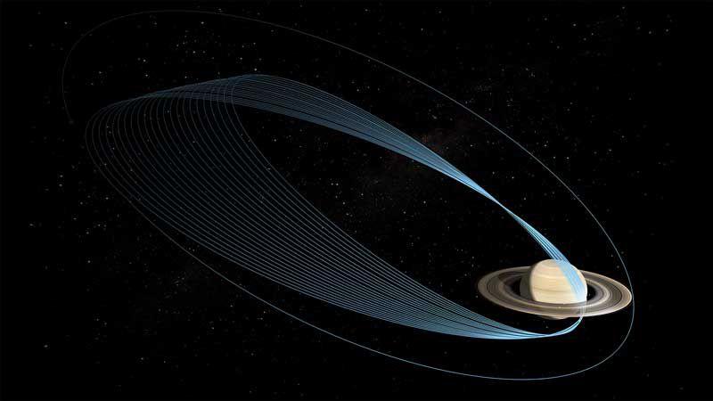 NASA предлагает выбрать лучшее название для новой фазы работы Cassini
