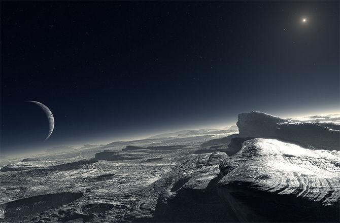 Ученые считают, что под поверхностью Плутона мог существовать океан