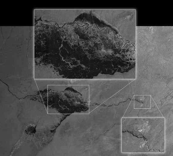 Спутник Sentinel-1A уже передал на Землю первые снимки