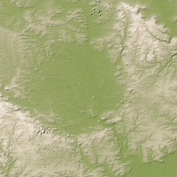 Возможно, в кратере Nördlinger Ries могла сохраниться жизнь после столкновения