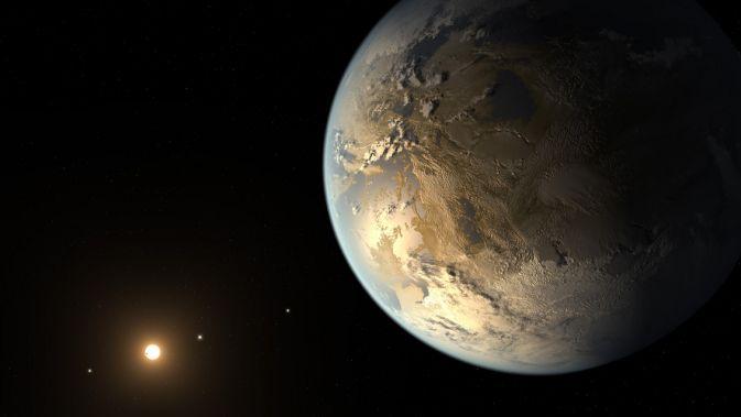 Kepler открыл первую планету, подобную Земле, в
