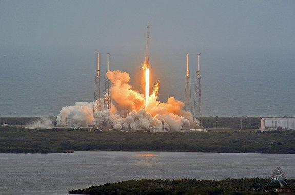 Испытаниям ракеты многоразового использования помешала погода