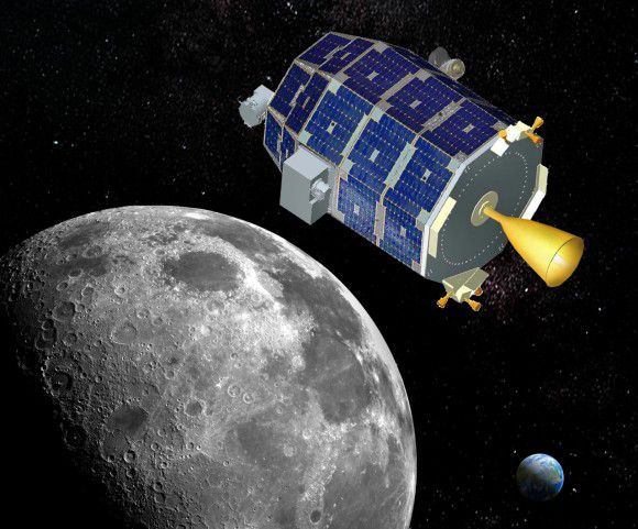 Лунный зонд LADEE завершил свою миссию