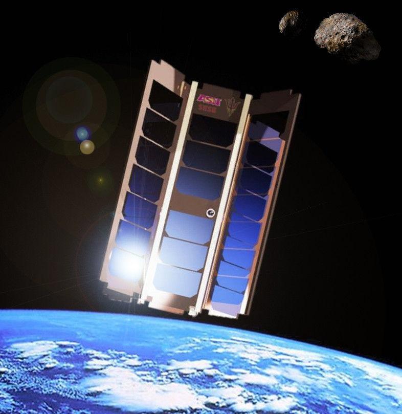 Ученые собираются построить 'участок астероида' внутри спутника