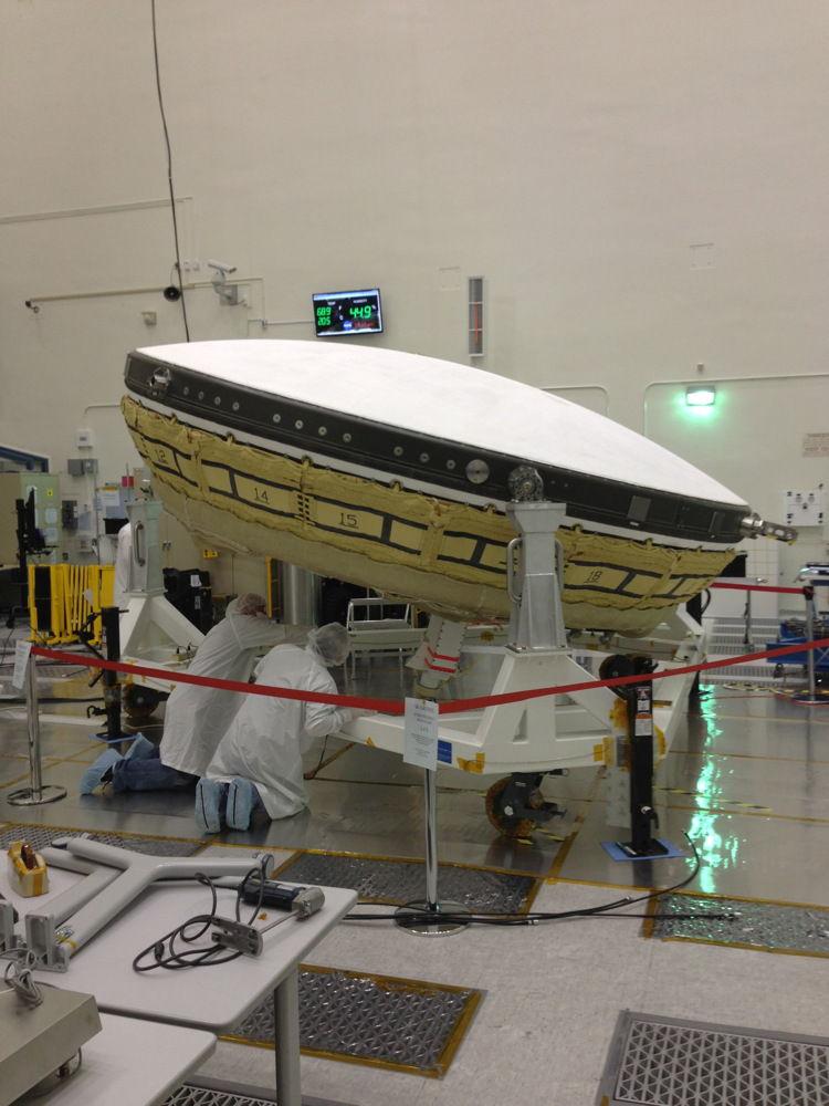 LDSD - надувная летающая тарелка для высадки на поверхность Марса
