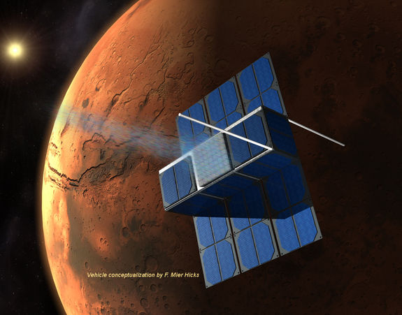 Студенты из США хотят отправить на Марс 'Капсулу Времени'