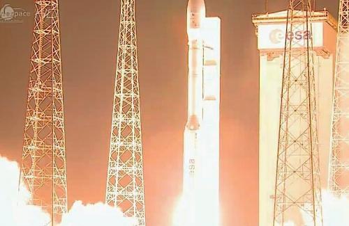Состоялся запуск казахского спутника с космодрома Куру